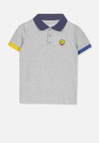 Cotton On - Kenny polo - grey
