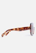 Superbalist - Jason oversized retro sunglasses - brown
