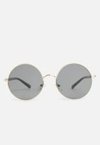 Superbalist - Chad round sunglasses - black
