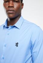 Pringle of Scotland - Niall styled shirt - blue