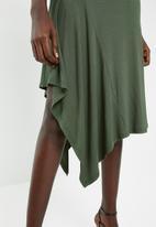 Superbalist - Knit midi skirt - green