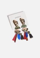 Superbalist - Solange statement earrings - multi
