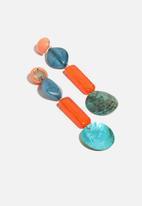 Superbalist - Resort drop earrings - multi