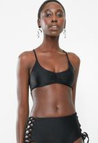 Bacon Bikinis - Kelly bikini top - black