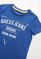 GUESS - Guess original tee - blue