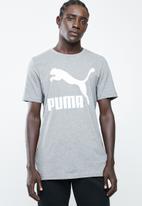 PUMA - Classic Logo tee - grey