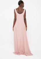 AMANDA LAIRD CHERRY - Nombini maxi dress - peach
