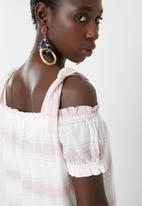 Vero Moda - Off shoulder dress - white