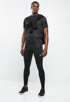 ASICS - Silver tights - black
