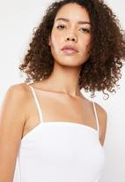 Superbalist - Straight neck 2 pack bodysuit - black & white