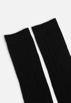New Look - Rib socks - black