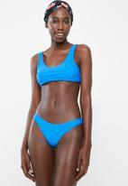 Bacon Bikinis - Retro bikini bottom - blue