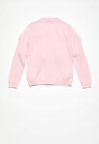 Superbalist - Pom pom cardigan - pink