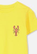 Cotton On - Max short sleeve tee - yellow