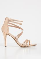 Sissy Boy - Strappy heels - rose gold