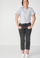 Cotton On - The one summer boyfriend pocket tee - grey