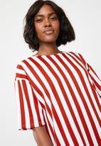 b8b1ec0416487 Oversized T-shirt dress - Multi-colour STYLE REPUBLIC Casual ...