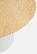 Sixth Floor - Ibiza round dining table - white