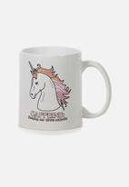 Typo - Anytime mug - caffeine unicorn