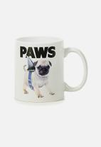 Typo - Anytime mug - paws white