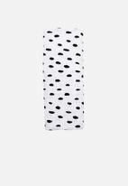 Little Love - Smudge dot cotton stretch blanket