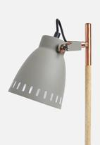 Present Time - Mingle desk lamp - grey