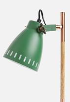 Present Time - Mingle desk lamp - green