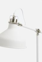 Present Time - Copious table lamp - metal white