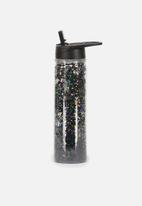 Typo - Double walled water bottle - stars & moon printed