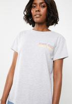 Superbalist - Venice tee - grey