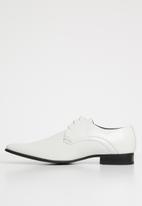 Gino Paoli - London lace-up - white