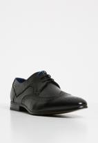 Gino Paoli - Wade lace-up - black