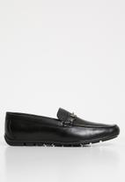 Gino Paoli - Jean loafer - black