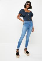 Superbalist - Upstyled jegging - blue