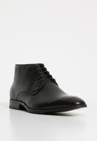 Gino Paoli - Keagan lace-up boot - black