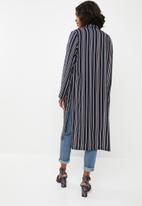 Superbalist - Longer length blazer kimono - multi