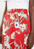 STYLE REPUBLIC - Highwaisted pants - red