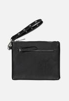 Typo - Wristlet zip pouch - black stud
