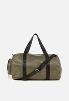 Cotton On - Anthens foldable duffle bag - khaki