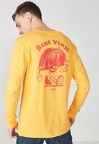 Cotton On - Tbar long sleeve tee - yellow