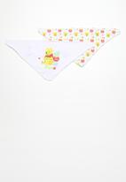 Character Baby - Winnie the pooh 2 pack bandana bibs - yellow