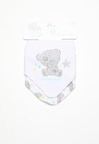 Character Baby - Tinny tatty teddy 2 pack bandana bibs - grey