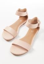 Cotton On - Francesca single vamp sandal - pink