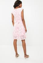 Revenge - Butterfly fit & flare dress - pink