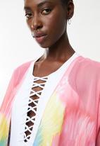 Joy Collectables - Starburst kimono mid - pink