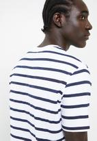 Superbalist - Stripe & plain crew neck tee 2 pack - multi