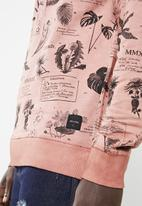 Only & Sons - Rogan sweat top - pink