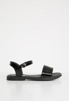 POP CANDY - Kids patent sandal - black