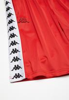 KAPPA - 222 banda treadwell short - red