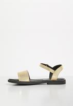 POP CANDY - Kids patent sandal - gold